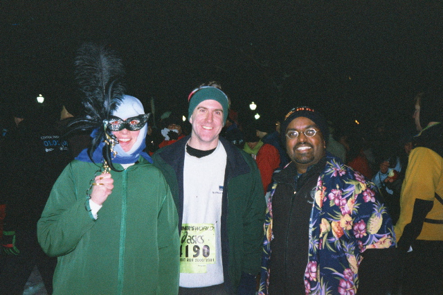 Karen, Ken and myself at Midnight Run